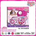 Las niñas de la belleza espejo seguro del corazón- en forma de cosméticos intelectual kit de juegos para niños