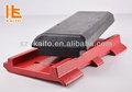 Almohadilla de goma de carretera- máquinas de construcción