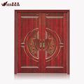 natural de madera de la puerta doble utiliza las puertas exteriores para la venta
