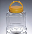 mango clara de alimentos de la tapa de la botella de plástico