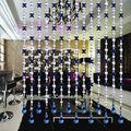hecho a mano baratos de acrílico cortinas panel de material de cortinas para el hogar y24