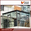 De efecto invernadero de perfil de aluminio para la ventana abatible/pared de cortina
