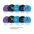 Livre Projeto Borracha Swim Cap personalizado touca de natação de silicone