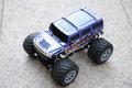 1/24 hummer rc coche de juguete eléctrico