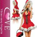 Cute Santa Chica traje