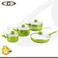 xylan aluminio utensilios de cocina de cerámica para la cocina de gas