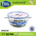 Adecuado para la realización de los envases de plástico de microondas redonda: PP y libre de BPA