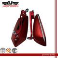 BJ-RM-029 Par De Espelhos Retrovisores Esportivo Universal - Vermelho