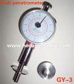 Frutas esclerómetro, frutas medidor de presión/gy-3 penetrómetro de frutas