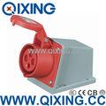 Base montaje toma de corriente 400v / superficie IP44 16A