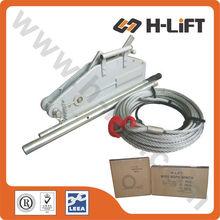 Cuerda de alambre alzamiento de tracción/cable del cabrestante/cable tirando del equipo
