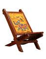 Bebé silla plegable, silla plegable de madera, antiguos de madera silla