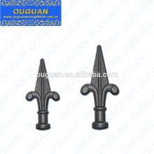 valla de hierro forjado utilizado de lanza de hierro forjado puertas la puerta