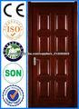 Gothic PVC de madera Puertas abatibles diseños puerta