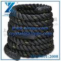 cuerda crossfit negro para la formación del cuerpo