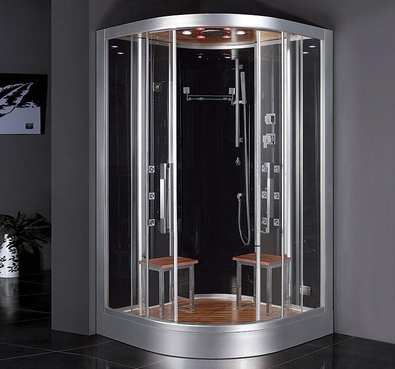 Ducha Con Baño De Vapor:sala de vapor ducha con pantalla táctil panel de control G962