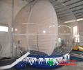 Hermosa eléctrica chritmas cristal bola de nieve/personalizado inflable globo de nieve para la venta