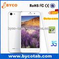 Precio más bajo 5.0'' octa núcleo móvil con 3g gps mtk 6592 teléfono androide
