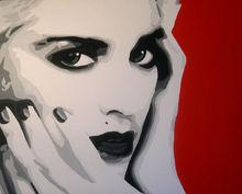 Arte pop de Madonna pintura