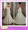 la grasa tamaño el último diseño de largo alibaba novia sirena sin mangas de encaje de la boda vestidos para las mujeres grandes