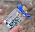 mini botella de vidrio con corcho para 30ml arena