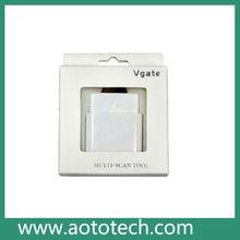 Wifi iobd2 escáner obdii para apple ipad y el iphone teléfonos android obd ii con un menor precio-- Jack