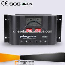 Steca PR3030 híbridos de energía solar 30A de control PWM SOC sistema de reguladores de carga solar de 12 V / pantalla LCD 24V