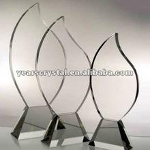 nuevos diseños de cristal trofeo awad para eventos