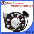 gy6 cc de onda completa de la motocicleta magneto gutka del rotor de la bobina