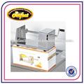 Manual de corte papasfritas/espiral cortador de patatas chips