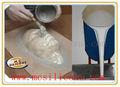 De la policondensación rtv-2 cura de silicona