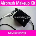 Maquillaje con aerógrafo compressor+ kit de aerógrafo