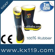 material de goma de fuego rendimiento de goma de fuego botas botas de goma botas de fuego