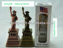 de metal estados unidos nueva york estatua de la libertad del arte americano modelo turístico de regalo turístico angeles libert