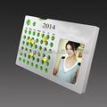 personalizado 2014 calendario de acrílico para la venta