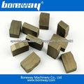 Segmentos del diamante de la alta calidad para el corte de piedra