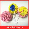 esponja de baño con forma de flor