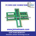 Pièces d'ordinateurs gros usine mémoire ram ddr3 2gb 1333