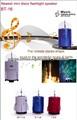 Mini bocina multimedia con color LED luces para Navidad