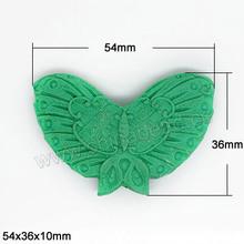 Granos de la turquesa de la mariposa, cuentas de cinabrio, moda DIY perlas, cuentas de turquesa, perlas de mariposa