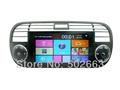 Coche de alta calidad auto radio gps para fiat 500 2007-2013 con radio rds gps bluetooth ipod swc usb ranura sd