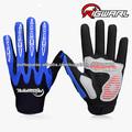 Rigwarl moda de alta qualidade personalizados dedo cheio luvas de moto