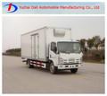 China truck ISUZU 4x2 box trucks with good quality