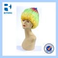 brasil 2014 copo palavra eco amigável sintético football fan perucas de cabelo