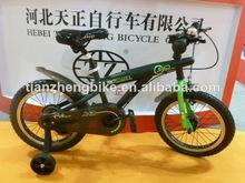 Tz marque petite roue de couleur noire tz de marque enfants à vélo bmx style vélos pour enfants costume pour enfants ans 3-8