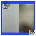 de aluminio de fibra de vidrio tela materiales de laminación