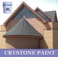 Acryilc a base de agua elaboró un modelo de color rojo de baldosas de cerámica de la pintura de estuco/recubrimiento