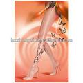 Les femmes sexy transparente papillon, soie, chaussette de tatouage
