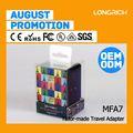 Novo produto dc adaptador plug tamanhos, adaptador usb para serial driver