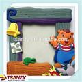 Bosque 3d suave del pvc marco de fotos/marco de la foto para los niños